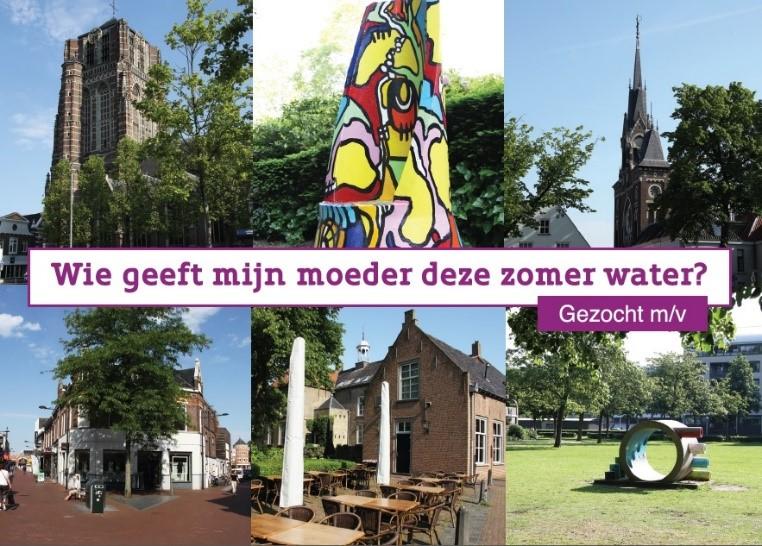 zomer ansichtkaart Oosterhout