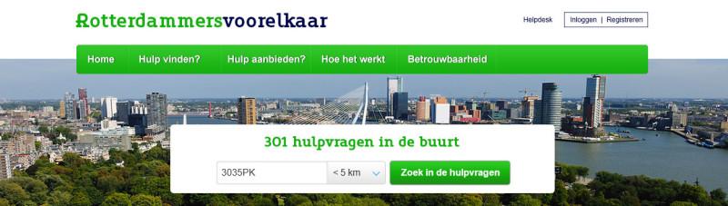 Resultatenpagina Rotterdammersvoorelkaar